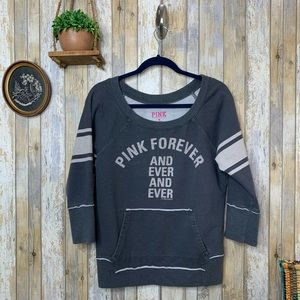 PINK VS 'Forever & Ever' Scoop Neck Sweater